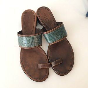 Cole Haan Country Ring Toe Sandals